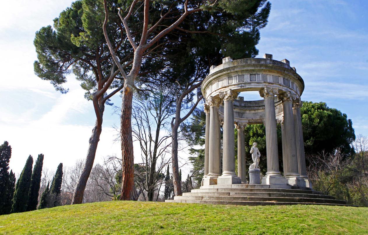 Parques y jardines ayuntamiento de madrid for Jardin historico el capricho paseo alameda de osuna 25